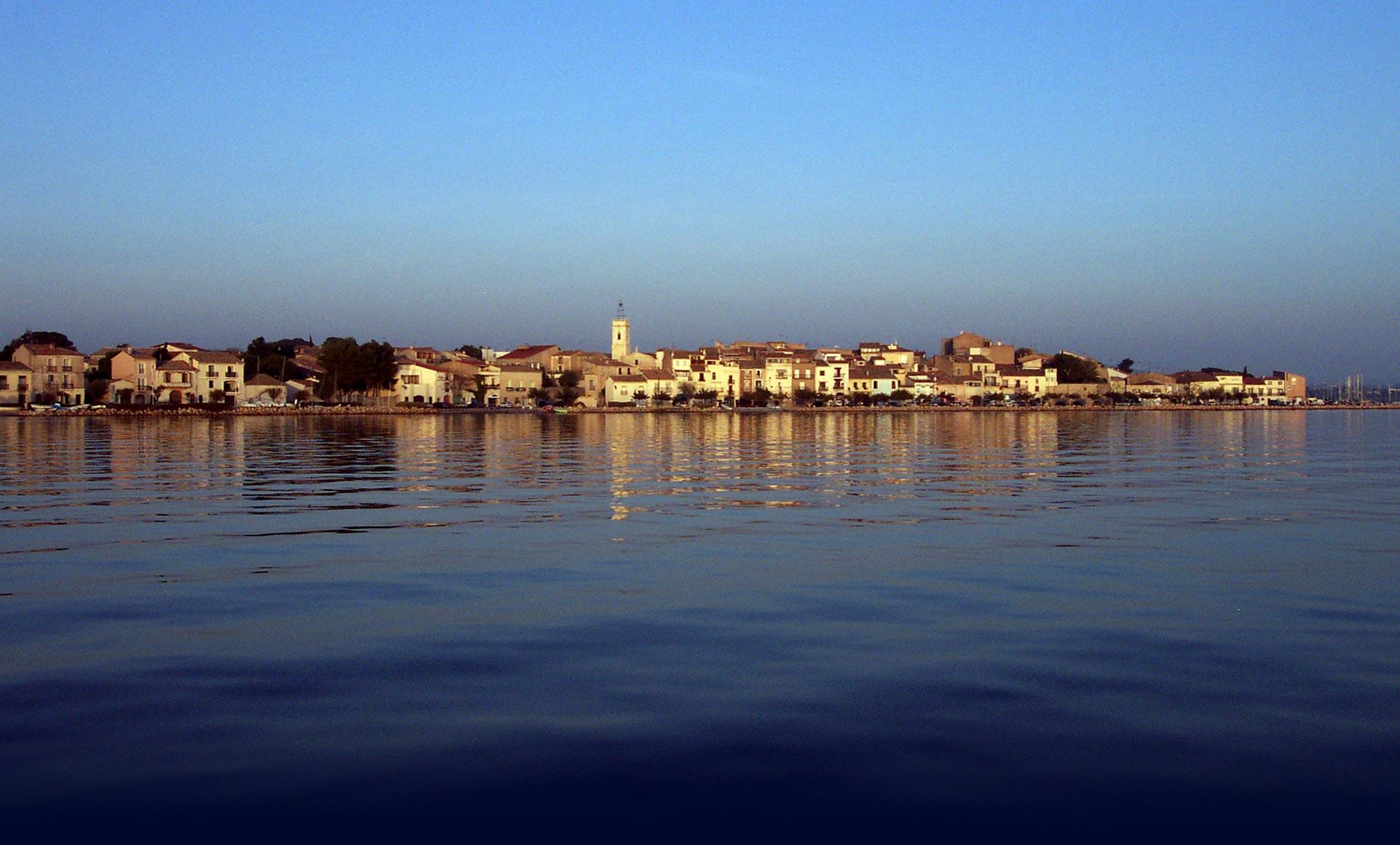 Mèze, lagune de Thau