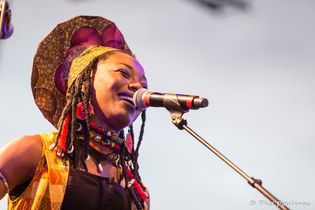 Fatoumata Diawara à Mèze 2018