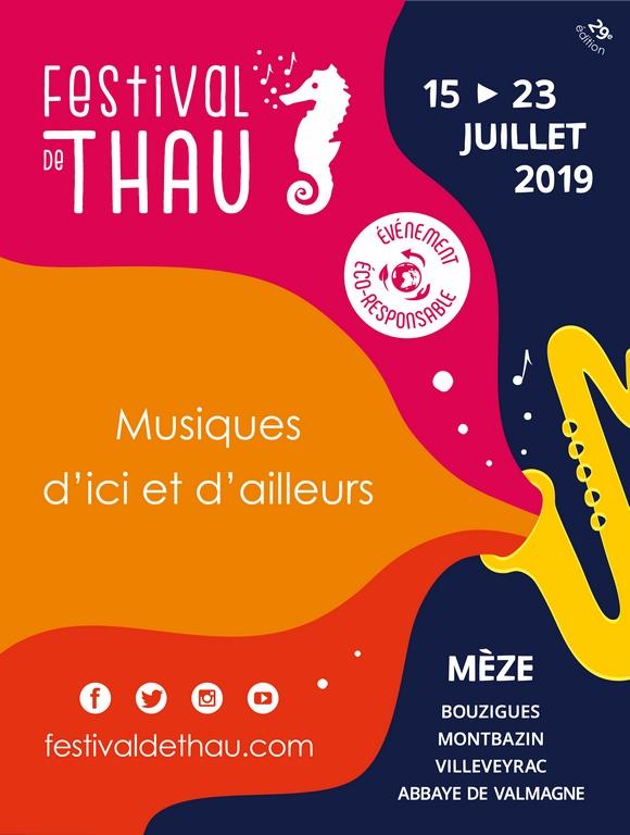 Affiche Festival de Thau 2019