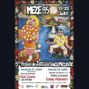 Affiche Festival de Thau 1995