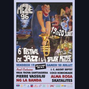 Affiche Festival de Thau 1996