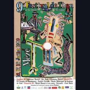 Affiche Festival de Thau 1999
