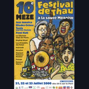 Affiche Festival de Thau 2000