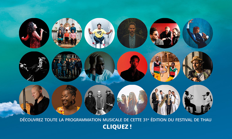 Programmation musicale Festival de Thau 2021